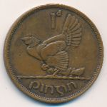 Ирландия, 1 пенни (1942 г.)