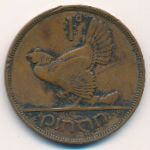 Ирландия, 1 пенни (1937 г.)