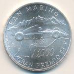 Сан-Марино, 1000 лир (1989 г.)
