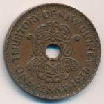 Новая Гвинея, 1 пенни (1938 г.)