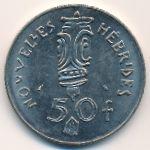 Новые Гебриды, 50 франков (1972 г.)