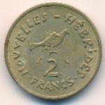 Новые Гебриды, 2 франка (1973 г.)