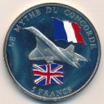 Конго, Демократическая республика, 5 франков (2003 г.)
