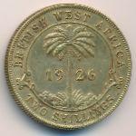 Британская Западная Африка, 2 шиллинга (1926 г.)