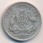 Австралия, 1 шиллинг (1927 г.)