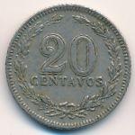Аргентина, 20 сентаво (1906 г.)