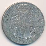 Великобритания, 1 флорин (1900 г.)