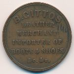 Новая Зеландия, 1 пенни (1864 г.)