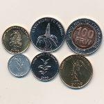 Руанда, Набор монет