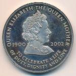 Остров Вознесения, 50 пенсов (2002 г.)