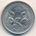 Австралия, 5 центов (1966–1982 г.)