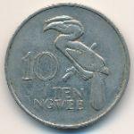 Замбия, 10 нгве (1972 г.)