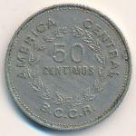 Коста-Рика, 50 сентимо (1970–1978 г.)