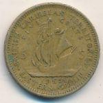 Восточные Карибы, 5 центов (1965 г.)
