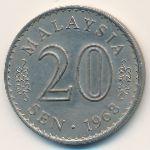 Малайзия, 20 сен (1968 г.)