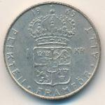 Швеция, 1 крона (1962–1966 г.)