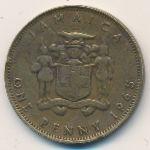 Ямайка, 1 пенни (1965 г.)