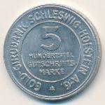 Шлезвиг-Гольштейн., 5/100 марки (1923 г.)