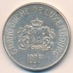 Люксембург, 100 франков (1963 г.)