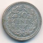 Нидерланды, 10 центов (1930–1944 г.)