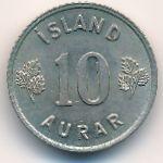 Исландия, 10 эйре (1946–1967 г.)
