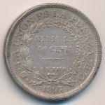 Боливия, 50 сентаво (1897 г.)