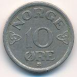 Норвегия, 10 эре (1955 г.)