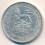 Великобритания, 1 шиллинг (1902 г.)