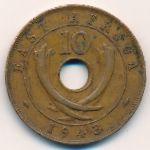 Восточная Африка, 10 центов (1943 г.)