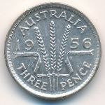 Австралия, 3 пенса (1956 г.)