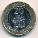 Ямайка, 20 долларов (2008 г.)