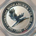 Австралия, 1 доллар (1996 г.)