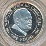 Гернси, 1 фунт (1999 г.)