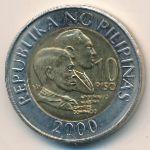 Филиппины, 10 песо (2000 г.)