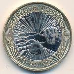 Великобритания, 2 фунта (2010 г.)