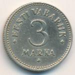 Эстония, 3 марки (1925 г.)
