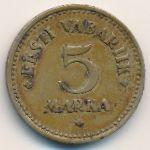 Эстония, 5 марок (1924 г.)
