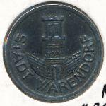 Варендорф., 1/2 марки (1920 г.)