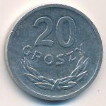 Польша, 20 грошей (1971 г.)