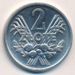 Польша, 2 злотых (1960 г.)