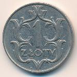 Польша, 1 злотый (1929 г.)
