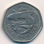 Барбадос, 1 доллар (2000 г.)