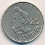 Гватемала, 25 сентаво (1991 г.)