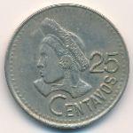 Гватемала, 25 сентаво (1993 г.)