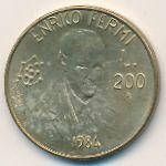 Сан-Марино, 200 лир (1984 г.)