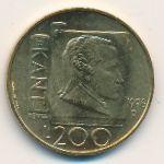 Сан-Марино, 200 лир (1996 г.)
