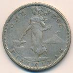 Филиппины, 1 песо (1908–1909 г.)