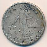 Филиппины, 1 песо (1909 г.)