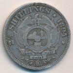 ЮАР, 2 1/2 шиллинга (1894 г.)