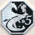 Острова Ашмор и Картье, 5 долларов (2019 г.)